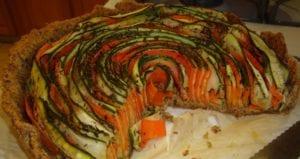 Carrot and Zucchini Tart