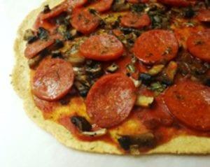 Paleo Pizza! (makes 2 crusts)