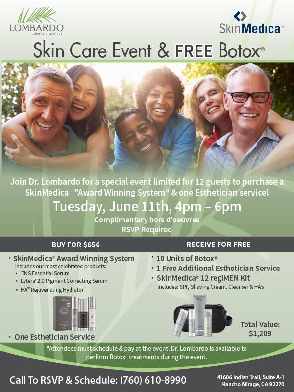 Skin Care Event & Free Botox